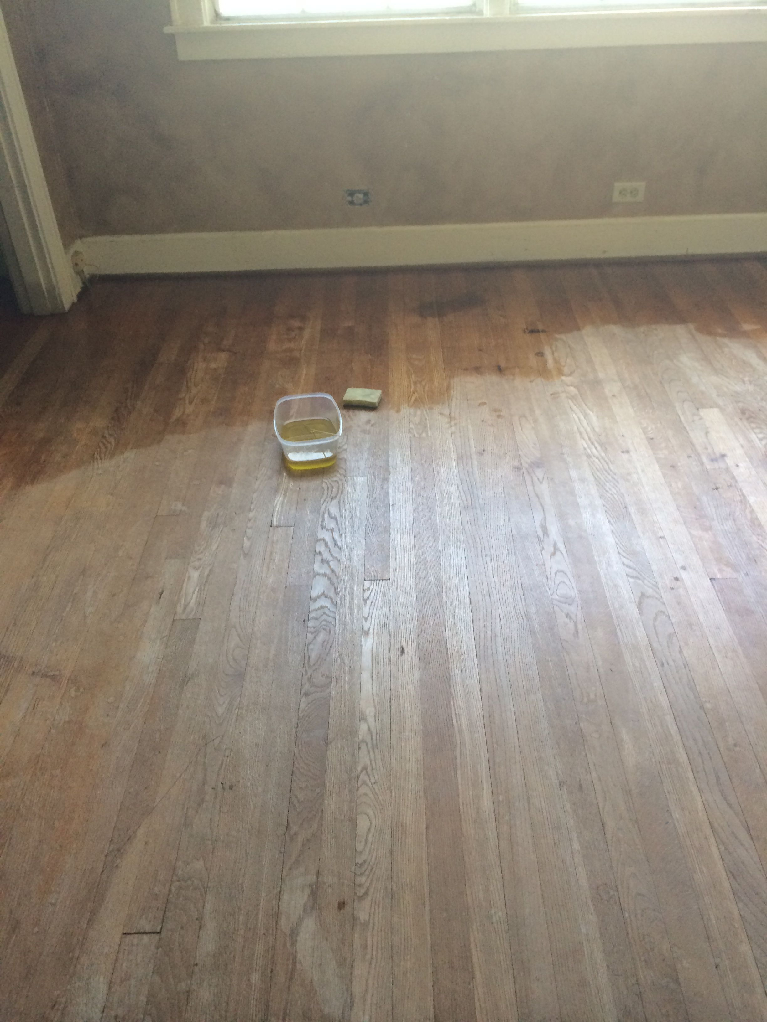Vinegar Polyurethane Hardwood Floors