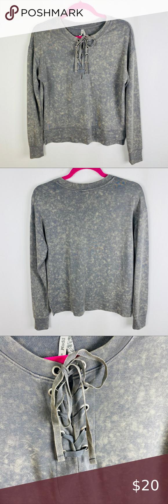 Mudd Gray Tan Tie Dye Lace Up Sweatshirt Mudd Gray Tan Lace Up Front Tie Dye Sweatshirt Soft Light Weight M Tie Dye Sweatshirt Grey Sweatshirt Sweatshirts [ 1740 x 580 Pixel ]