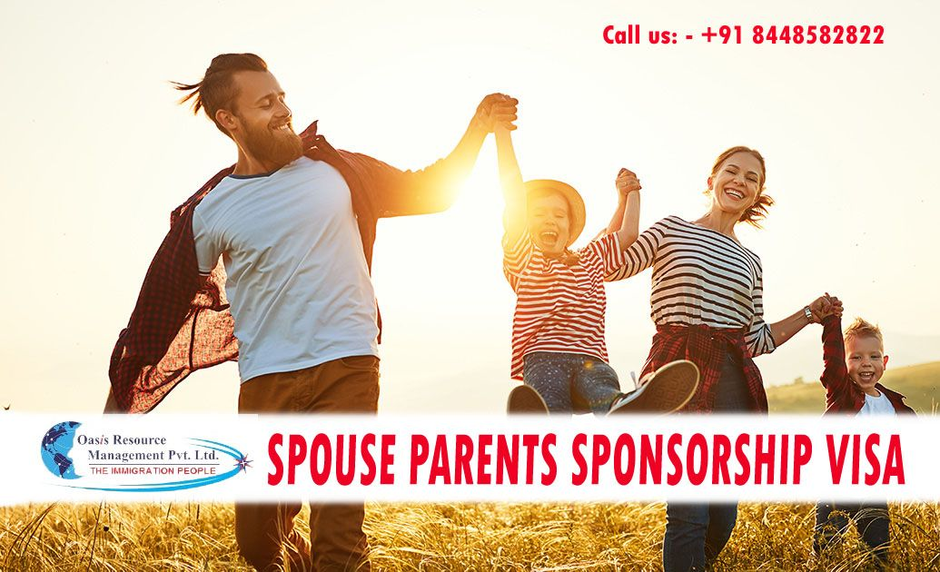 Spouse Parents Sponsorship Visa For Canada Oasis Resource Management In 2020 Family Sponsorship Sponsorship Program Resource Management
