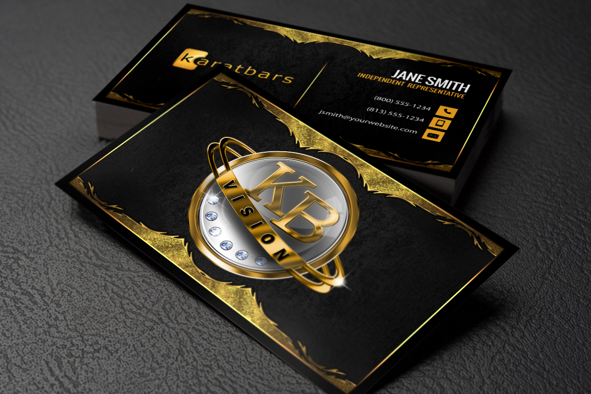 Karatbars Business Cards Free Shipping Karatbars Printing Business Cards Free Business Cards