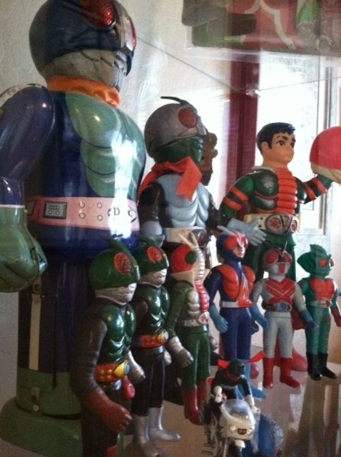 Kamen Rider S Collection Photo Vintage Japanese Toys 1960s 1970s