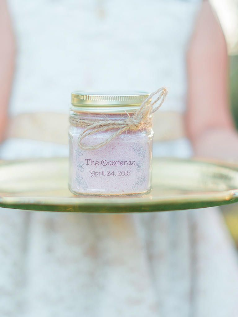 20 DIY Wedding Favors for Any Budget | Diy bath salts, Favors and ...