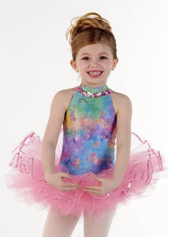 989adaddc27a BUTTERFLY KISSES #2 Ballet Ballerina Tutu Dance Costume Child 6X7 & Medium  #Cicci