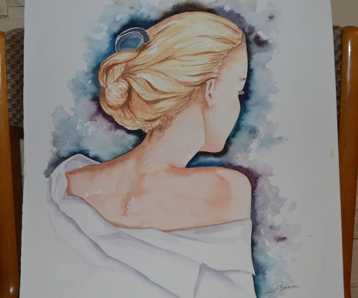 Pin On Aquarelles Opale Isis Christine Monsion