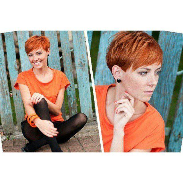 Du hast rote Haare und auf der Suche nach Ideen für eine neue Frisur? 11 total … – Sandra Schwalm