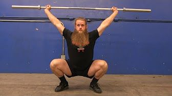 HOW To Power Snatch (Olympic Weightlifting) - YouTube
