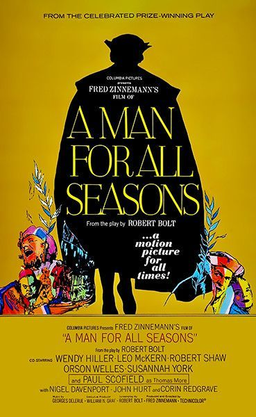 A Man For All Seasons 1966 Movie Poster Best Movie Posters