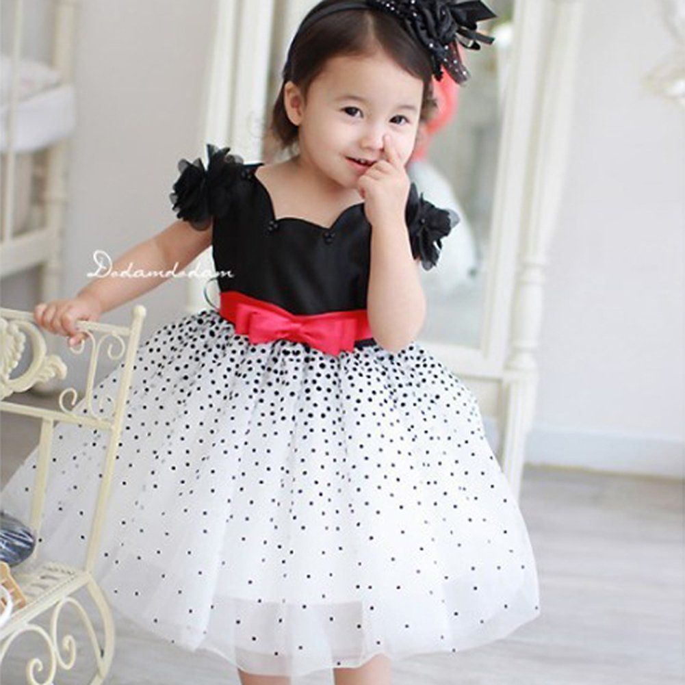 Weixinbuy Baby Girls Princess Chiffon Flower