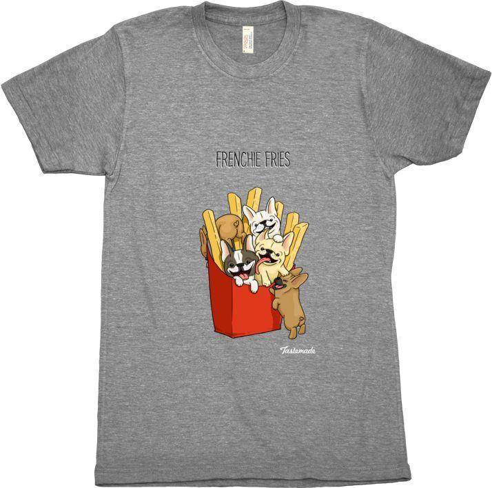 Frenchie Fries Men's Shirt