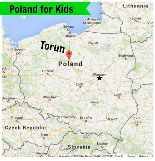 Poland for Kids Series Exploring Torun Poland with Ada Poland