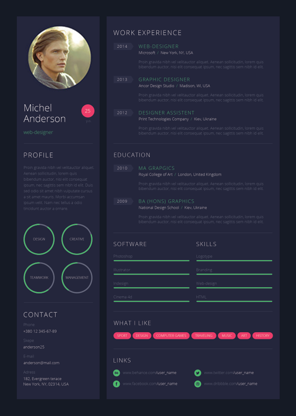 Game Artist Resume Google Search With Images Resume Design
