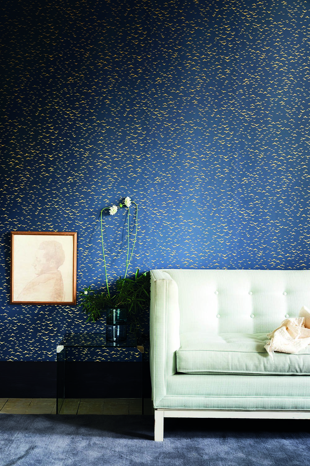 Yukutori Farrow & ball wallpaper, Farrow ball, Metallic