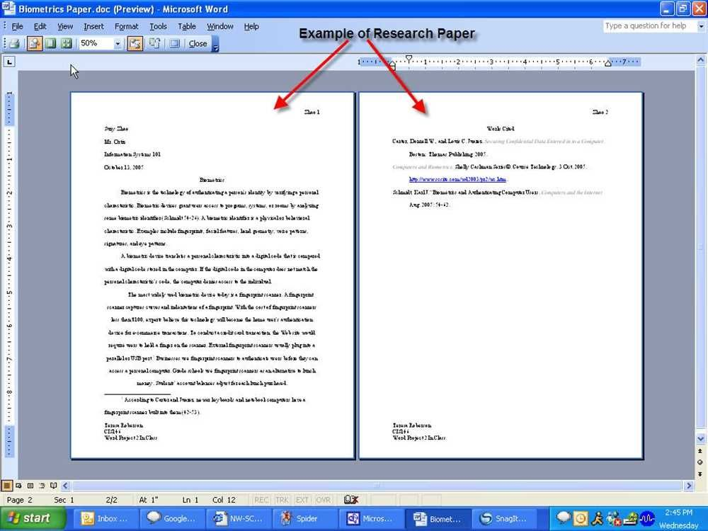 Tips For Writing A Research Paper High School. Formal Letter