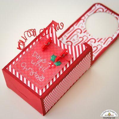 Christmas Countdown Door Hanger by Courtney   Doodlebug Design Inc Blog   Bloglovin'