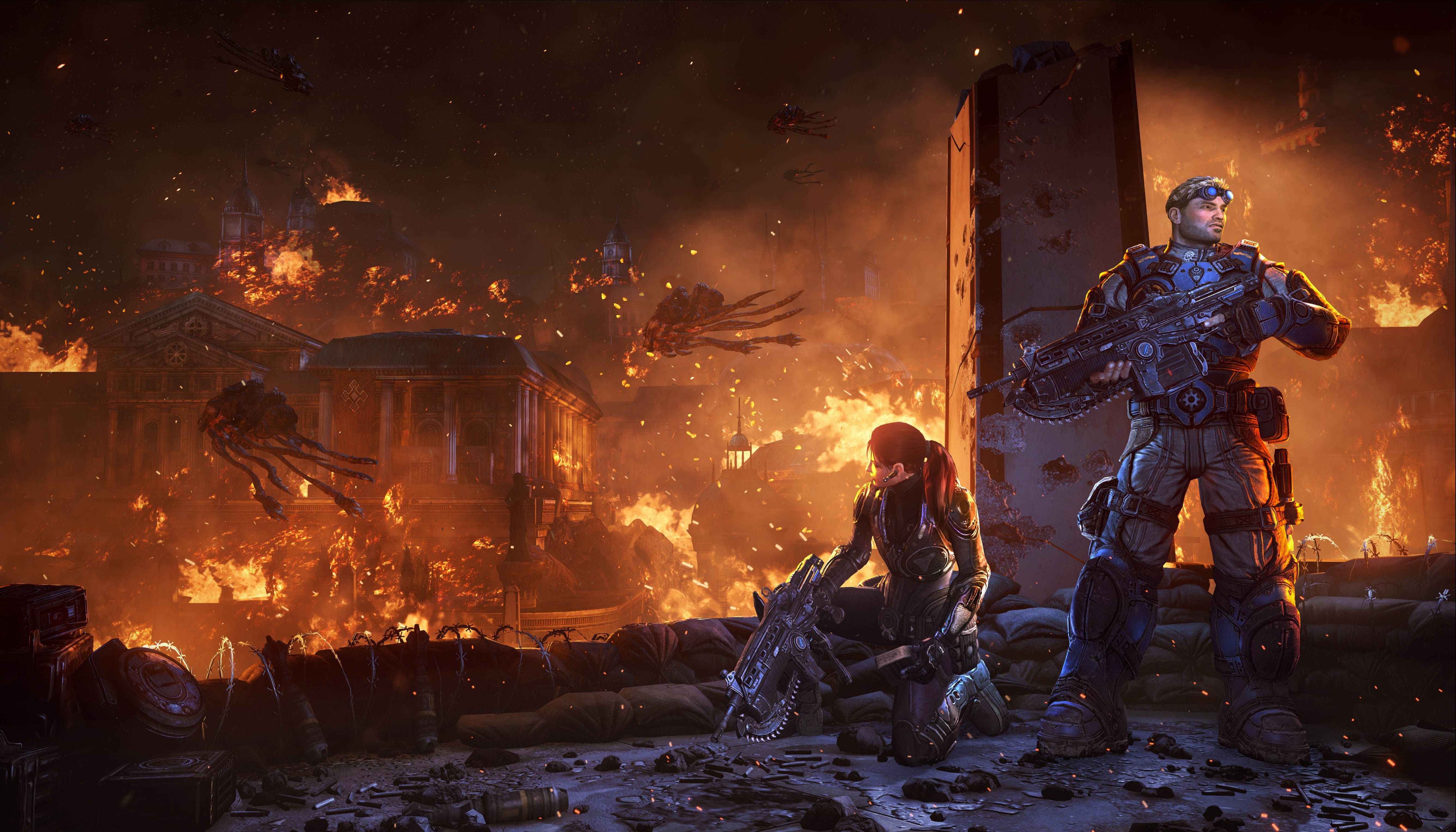 Gears Of War Judgement Is Not Just A Prequel Features Unlockable Aftermath Mini Campaign Gears Of War Gears Of War 3 Gears Of War Judgment