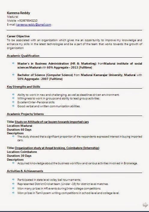 excellent cv sample template example ofexcellentcurriculum