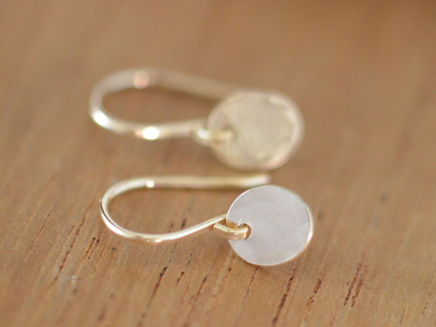 everyday listing rose stud tiny dot il filled simple earrings fullxfull gold