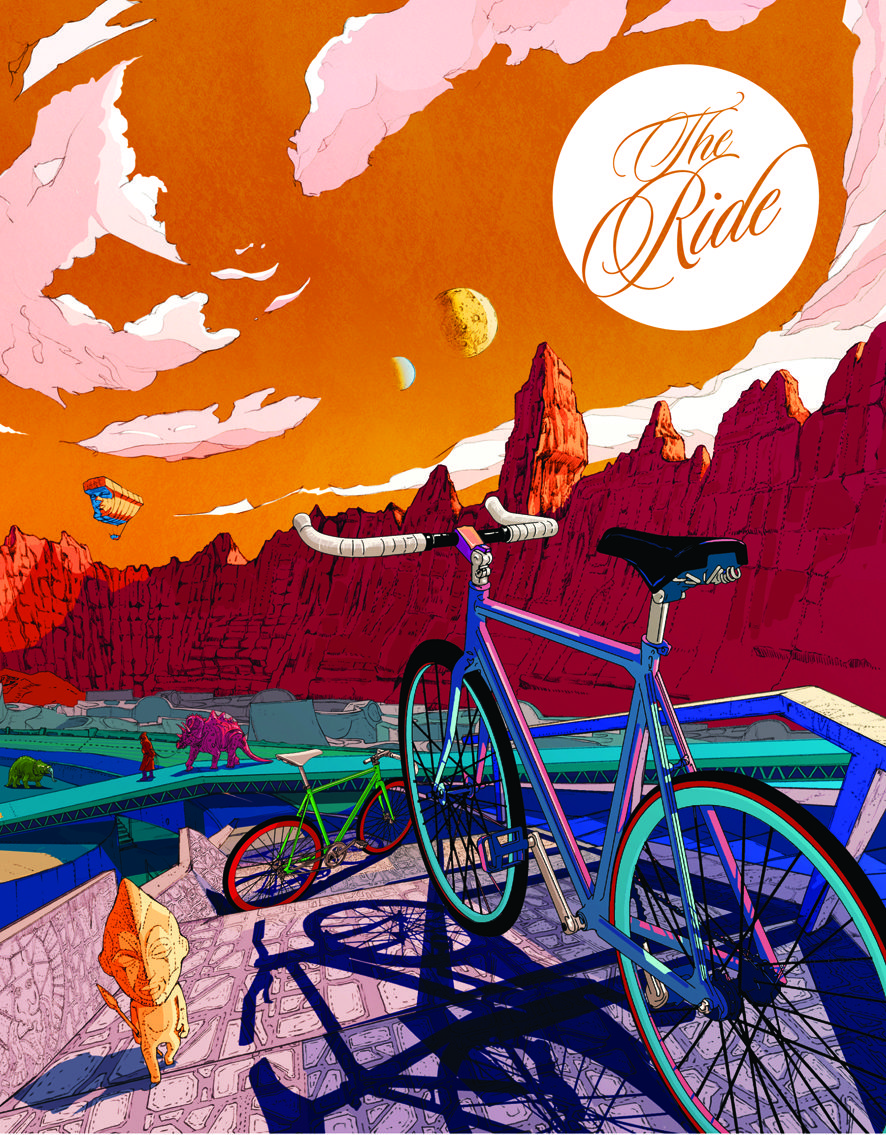 The Ride Journal - cycling magazine, 2010
