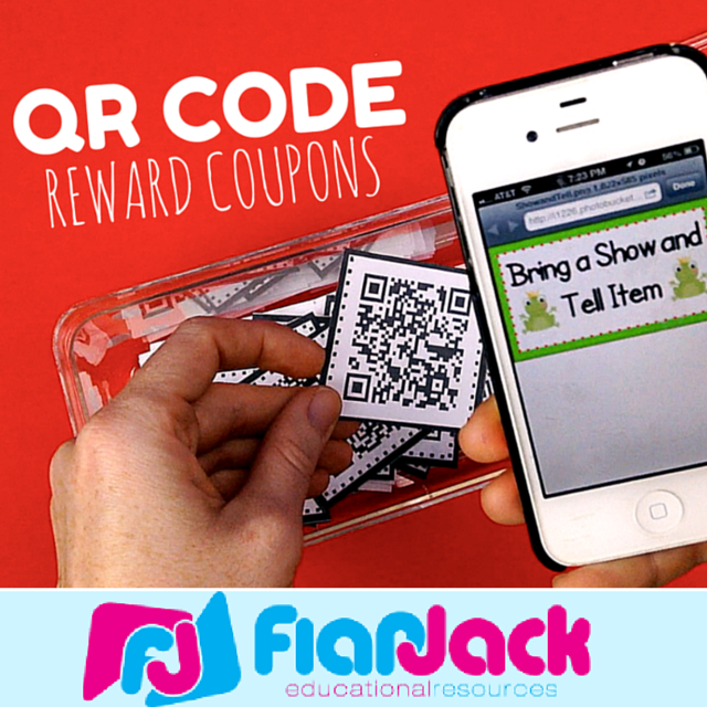 QR Code Behavior Coupons YouTube Video & Freebie