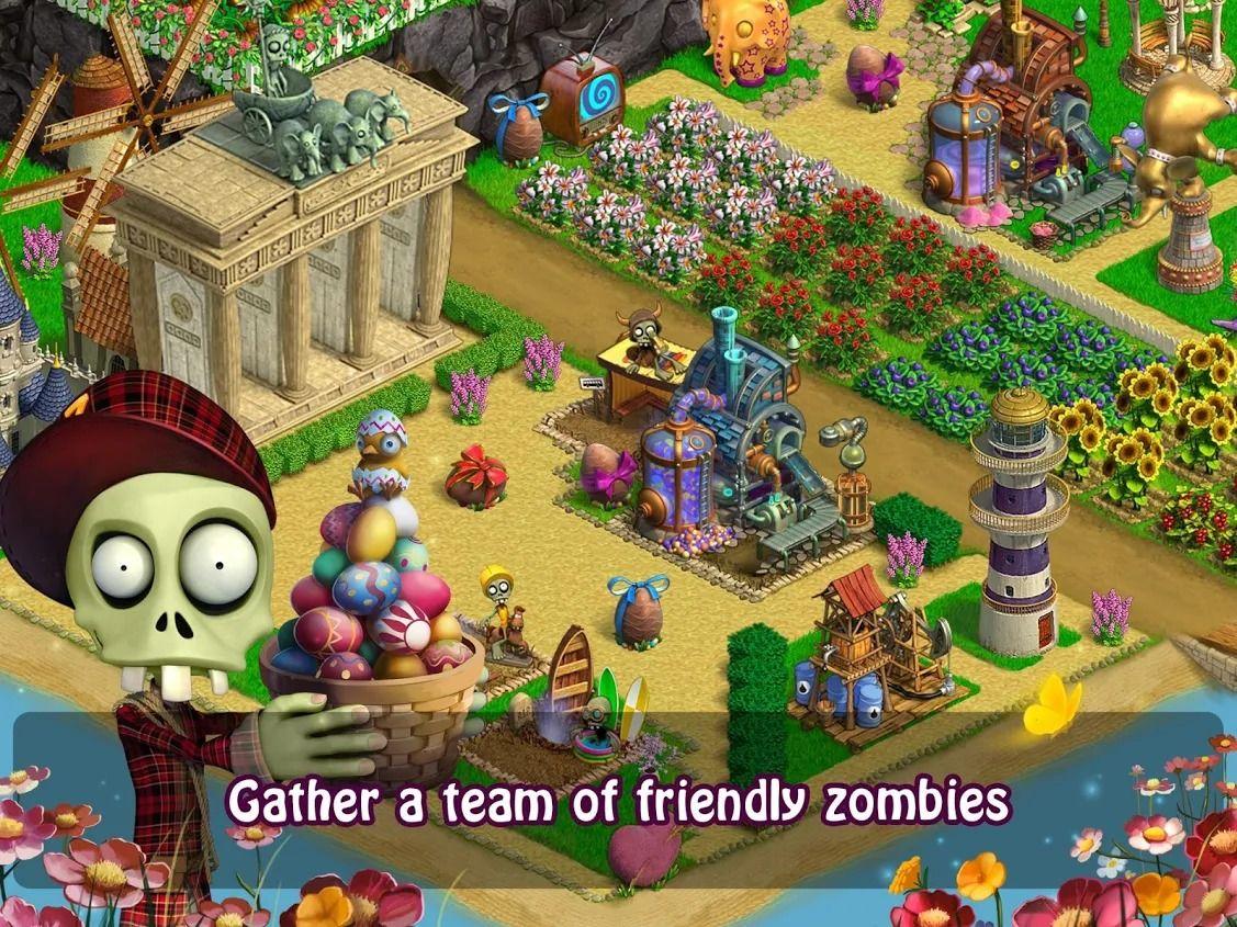 зомби в зомби ферме картинки лишь