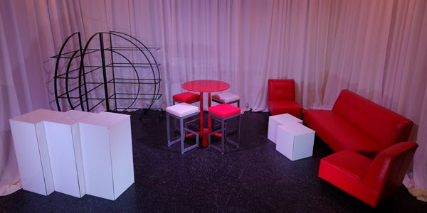 Trade Show Booth Furniture Eccentric Booths Graphics Exhibits Pinterest
