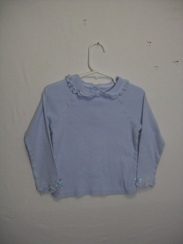 77f855aff01b NAARTJIE GIRL SIZE Small 4 TOP BLUE LONG SLEEVE EVERYDAY FALL 100 ...