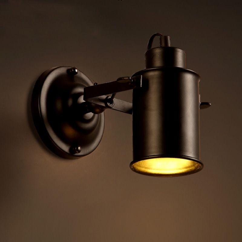 Cheap lampade da parete vintage loft ferro metallo lampade for Applique da parete ikea