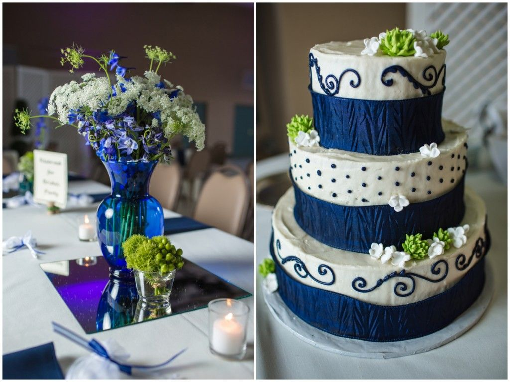 Navy and White Wedding in Knoxville, Tn Anniversary