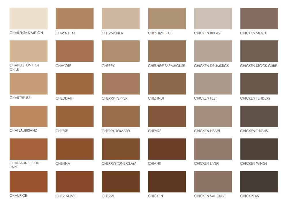 Brown Pantone Color Chart In 2019 Pantone Color Chart Brown Color Names Pantone ในป 2020 เฉดส ส แพนโทน