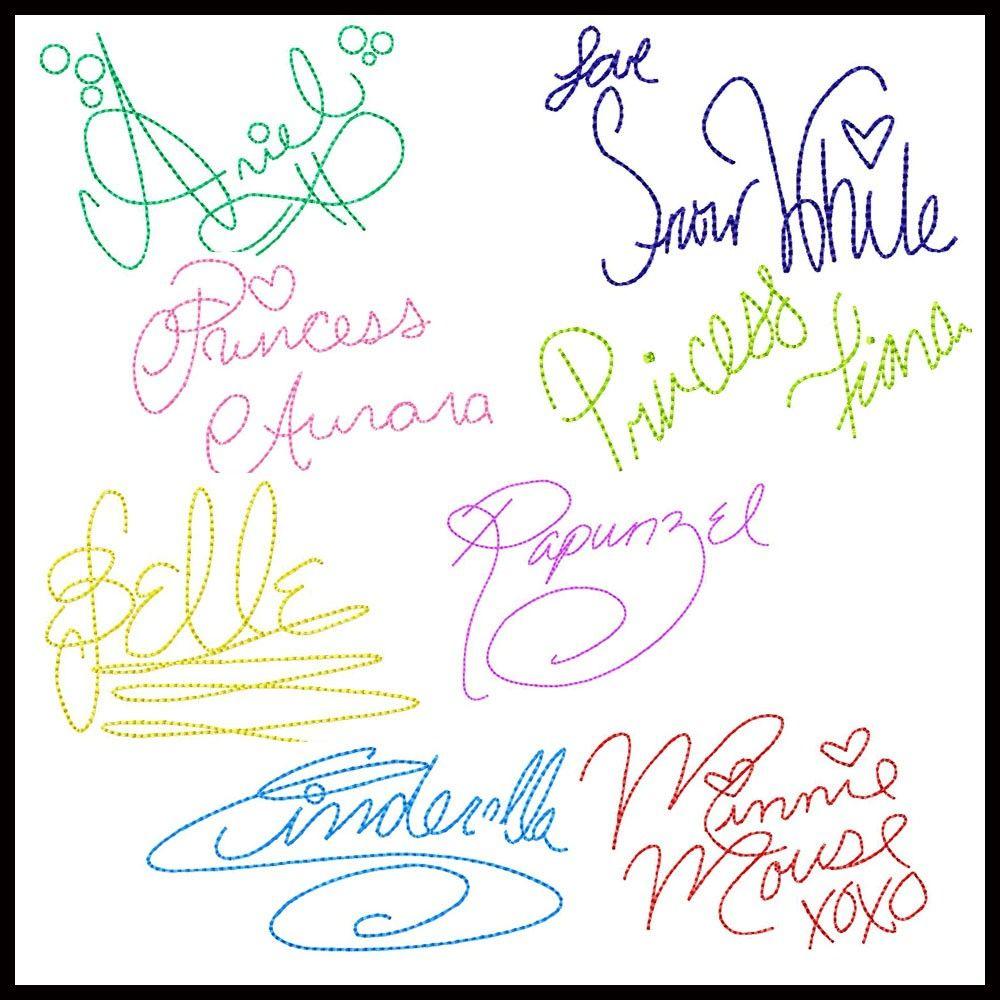 Signature Pillowcase Disney Birthday Disney Themed Autograph Pillowcase Disney Vacation Disney Signatures Disneyland Disney world
