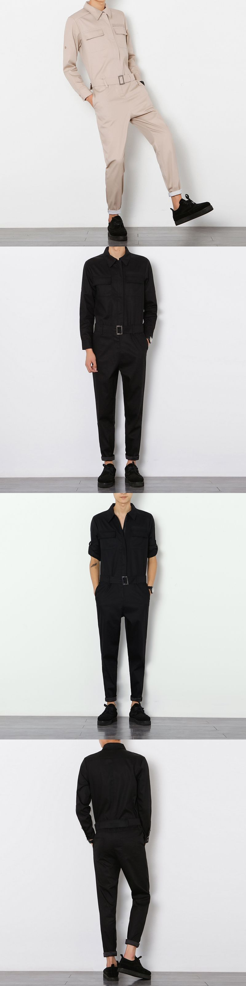 702a2e4ce291 2017 Harajuku Hiphop Cargo jumpsuits Men Streetwear jumpsuit Pants Male  Tooling Slim Trousers Casual loose bib