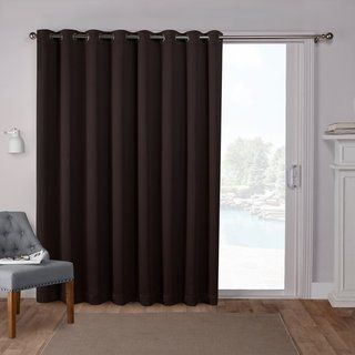 Ati Home Sateen Patio Thermal Woven Blackout Grommet Top Curtain