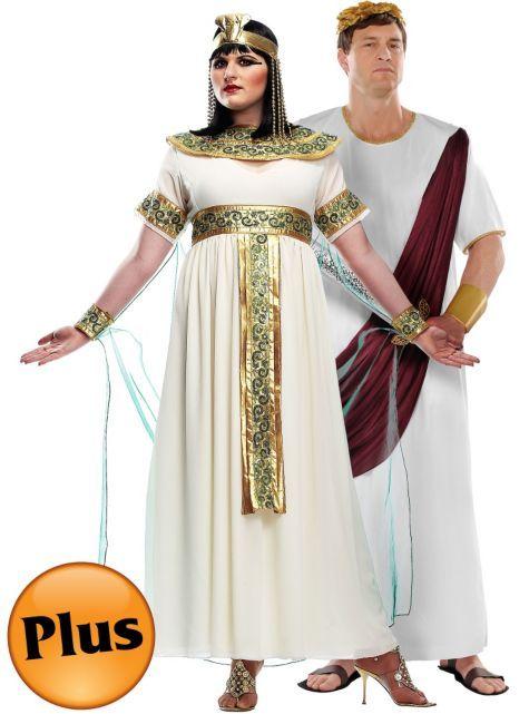 Plus Size Cleopatra and Plus Size Augustus Caesar Couples ...