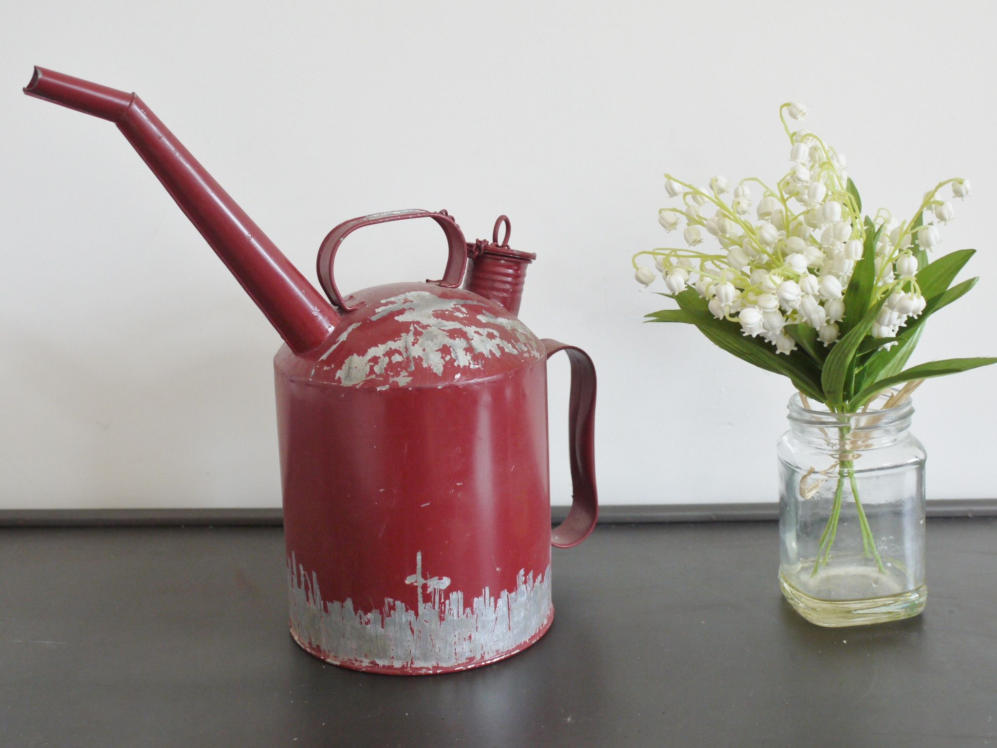 Industrial Water Can from Olive and Sage