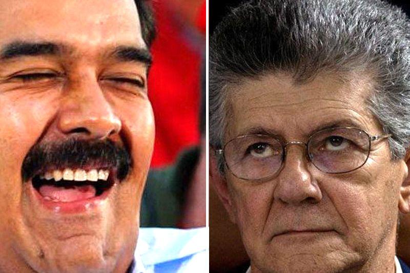 ¡PAYASO! Maduro: Estamos buscando a Ramos Allup, que se reporte por el 0800sefue (+Video) - http://bit.ly/2j6A3xJ