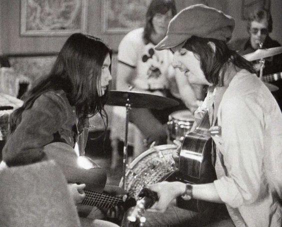 Emmylou Harris e Gram Parsons