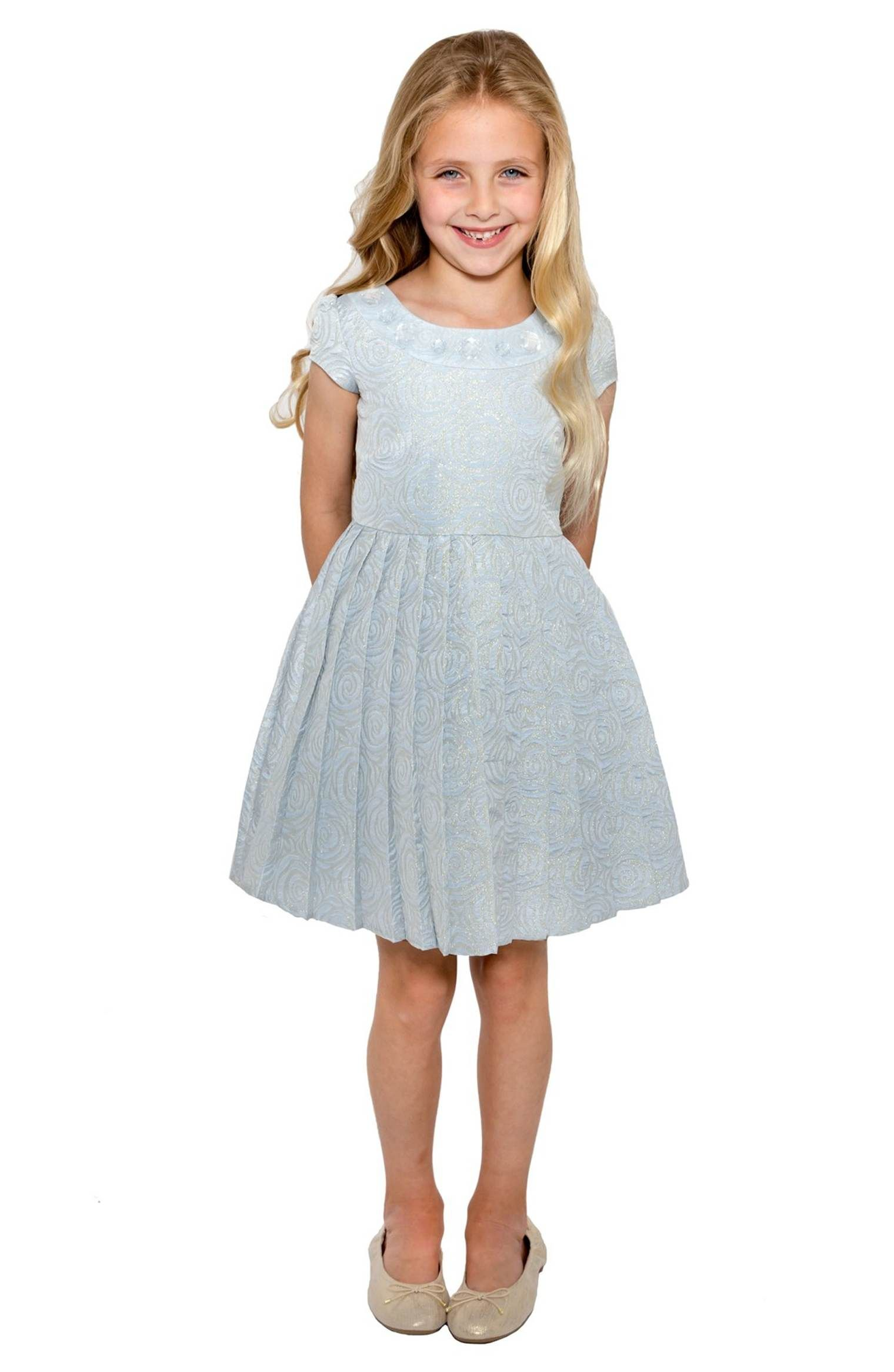 Floral Brocade Dress | Toddlers, Floral and Little girls