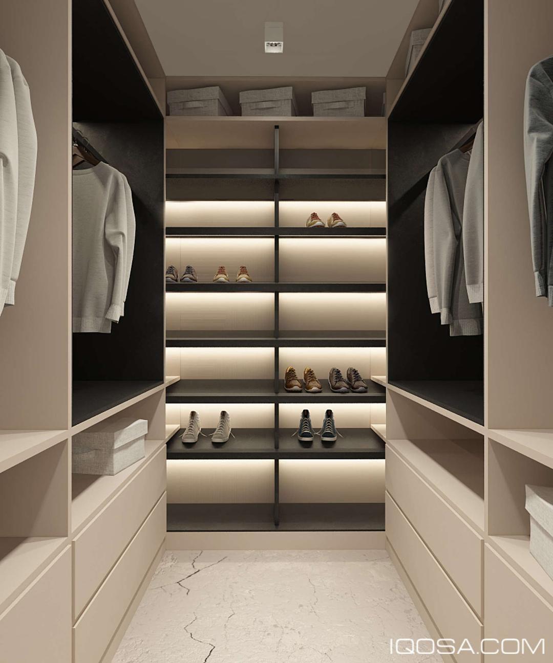 1 410 Likes 25 Comments Arquitetura Interiores  ~ Quarto De Casal Grande Com Closet