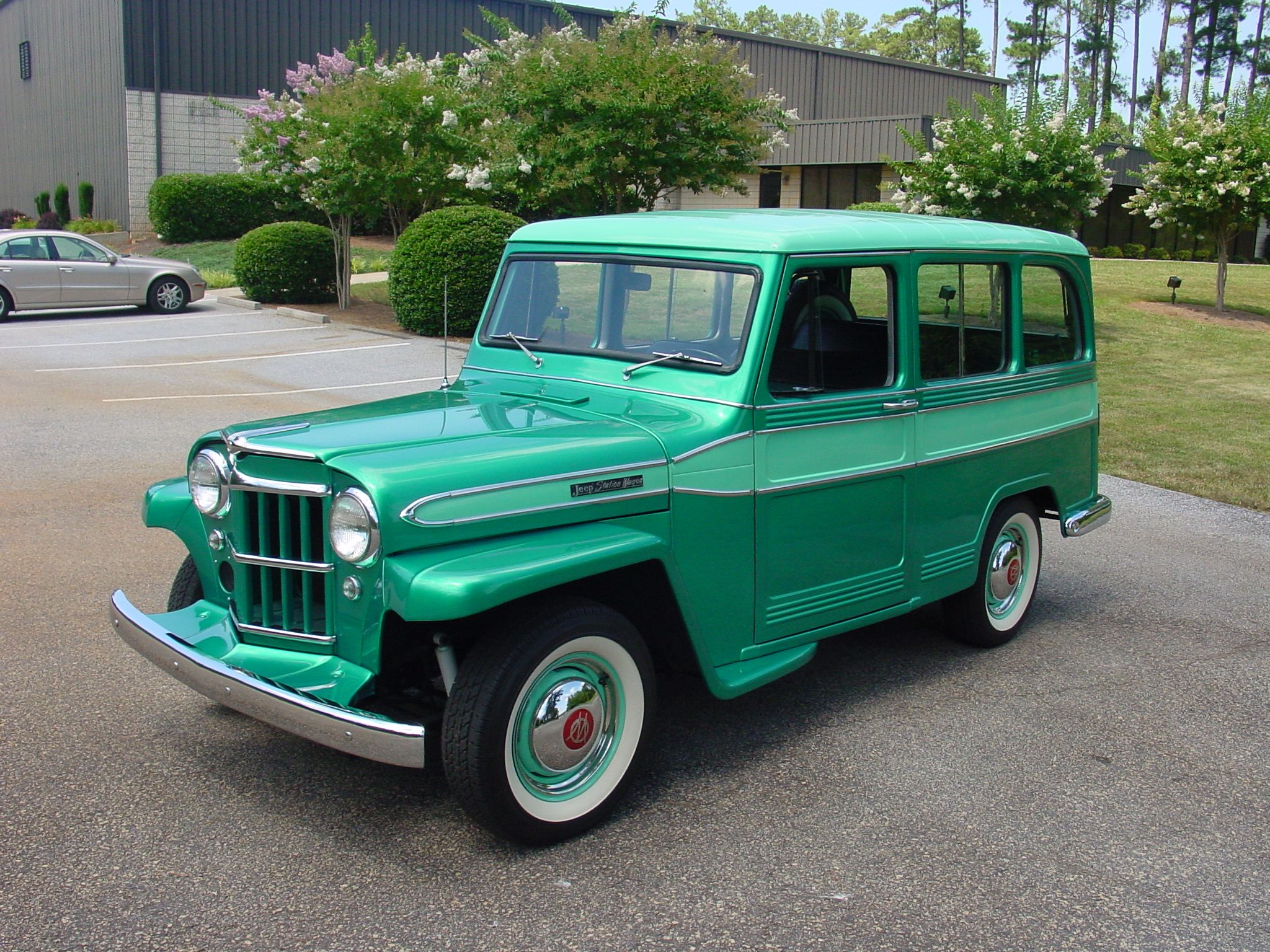 The Willys Jeep Station Wagon Manufactured By Willys Overland