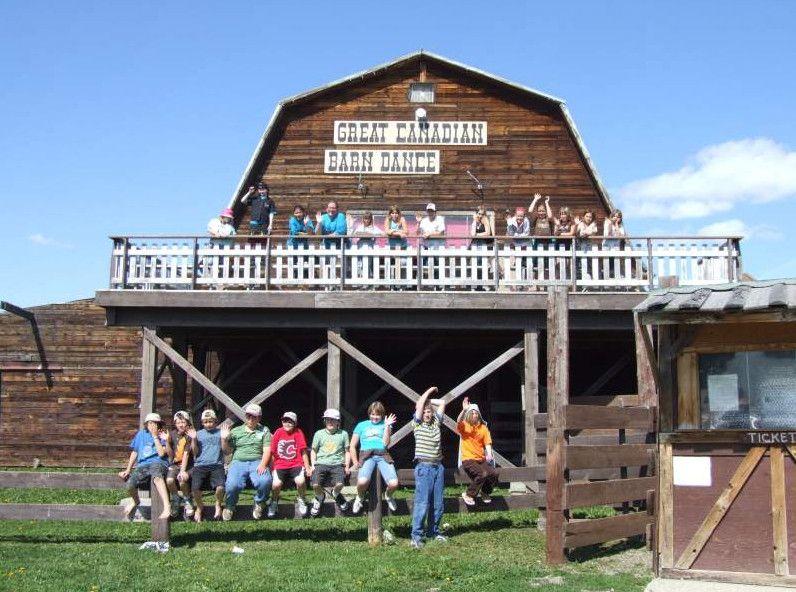 Great Canadian Barn Dance Hillspring Ab The Cowboy Life
