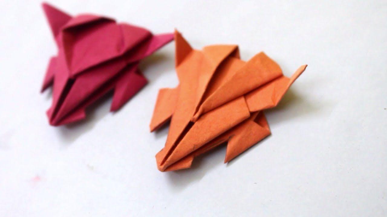 Origami Avengers Quinjet Origami Flying Paper Jet Easy Paper Jet Making Origami Origami Easy Diy Avengers