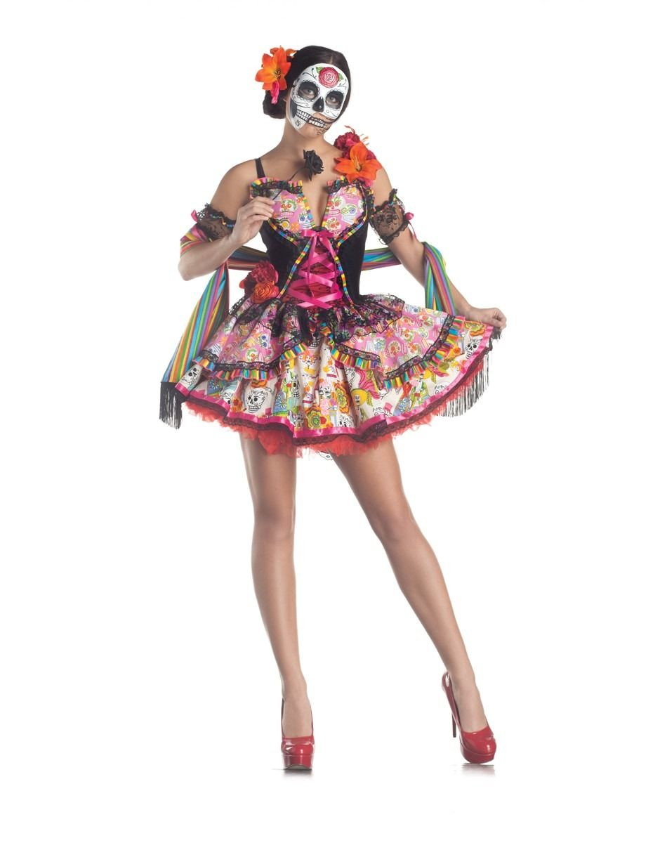 Genial tradición la del disfraz de #Catrina