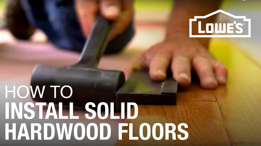 How to Install a Solid Hardwood Floor in 2020 Solid