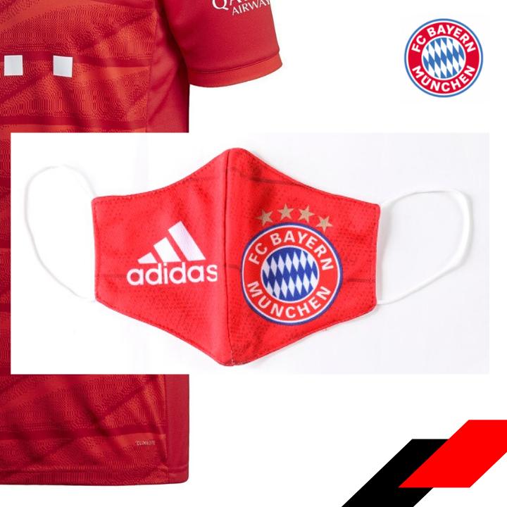 Masque En Tissu Bayern Munich In 2020 Cheap Football Shirts Football Shirts Bayern Munich