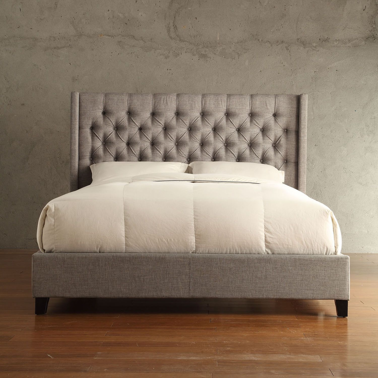 Relax on your personal cloud with the Naples Collection bed. The ...