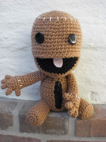 sackboy | who knows, maybe ill make this | Pinterest | Crochet ...