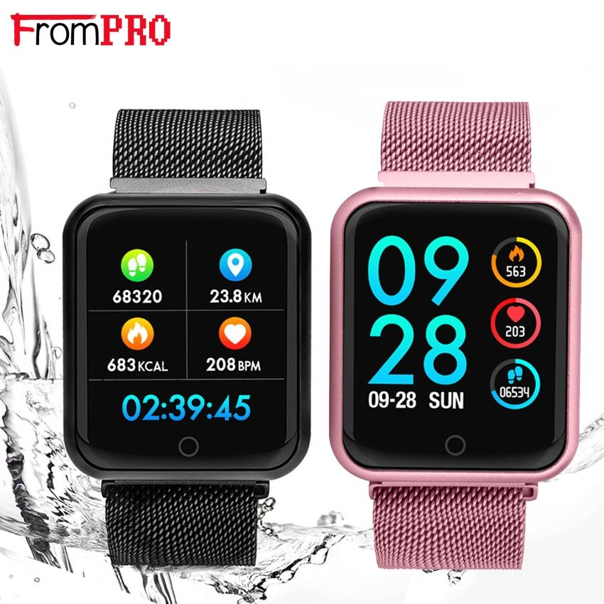 Smart Bracelet F68 Blood Pressure Oxygen Heart Rate