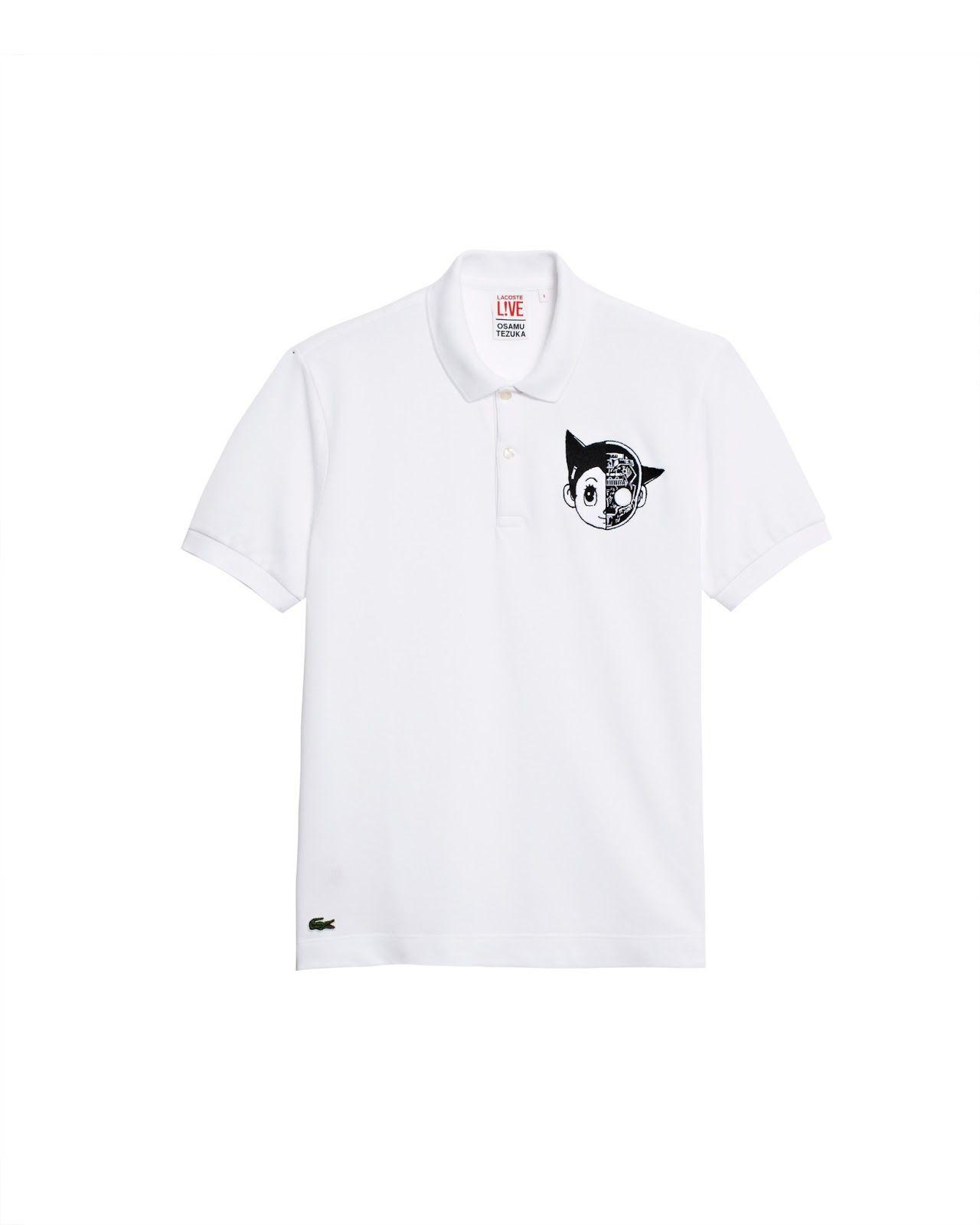 Lacoste lanzará una línea de camisetas basadas en Tezuka   Camisetas ...