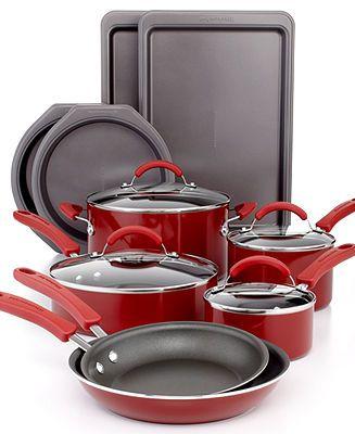 Closeout Kitchenaid 14 Piece Cookware Set Cookware Set
