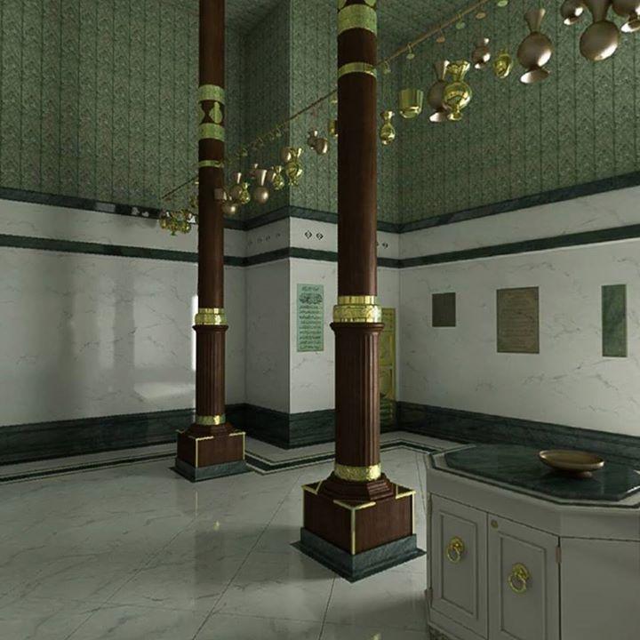 الكعبة المشرفة من الداخل من كل الجوانب حركة الماوس لكل اتجاه فى الصوره 360 درجة Islamic Architecture Makkah Mecca